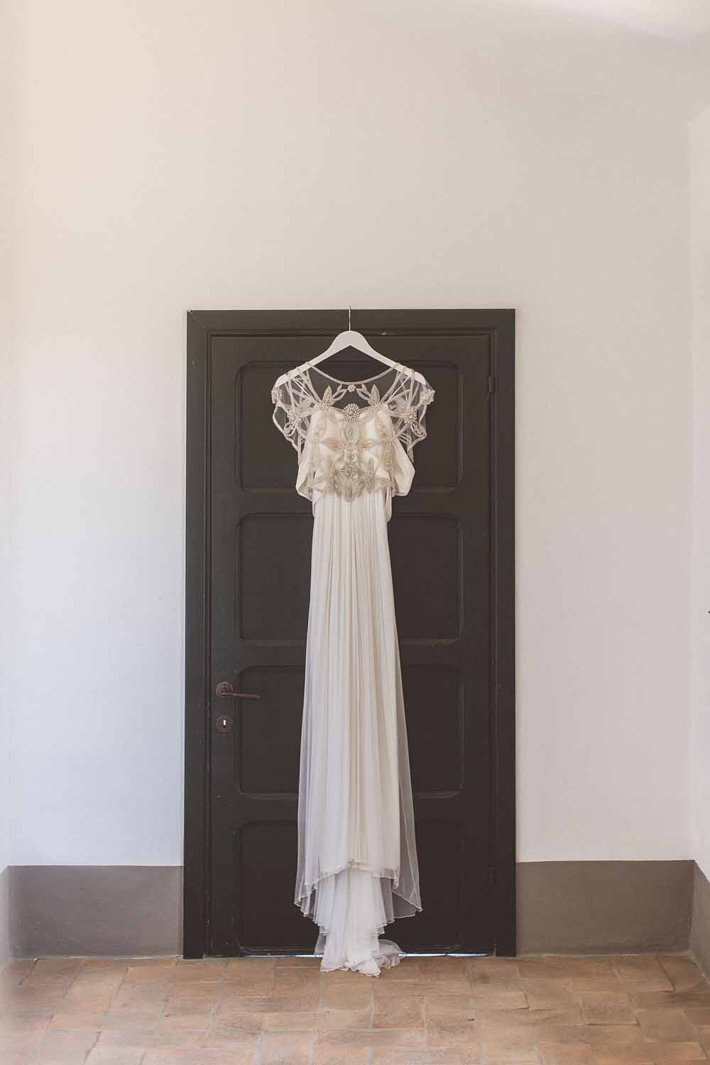 Anna Campbell Adelaide Dress Wedding Gown Tuscany Destination Wedding