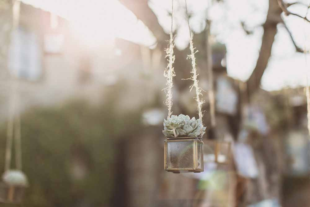 Rustic Hilltop Wedding in Tuscany Hanging Flowers Passion for Flowers - Locanda In Tuscany