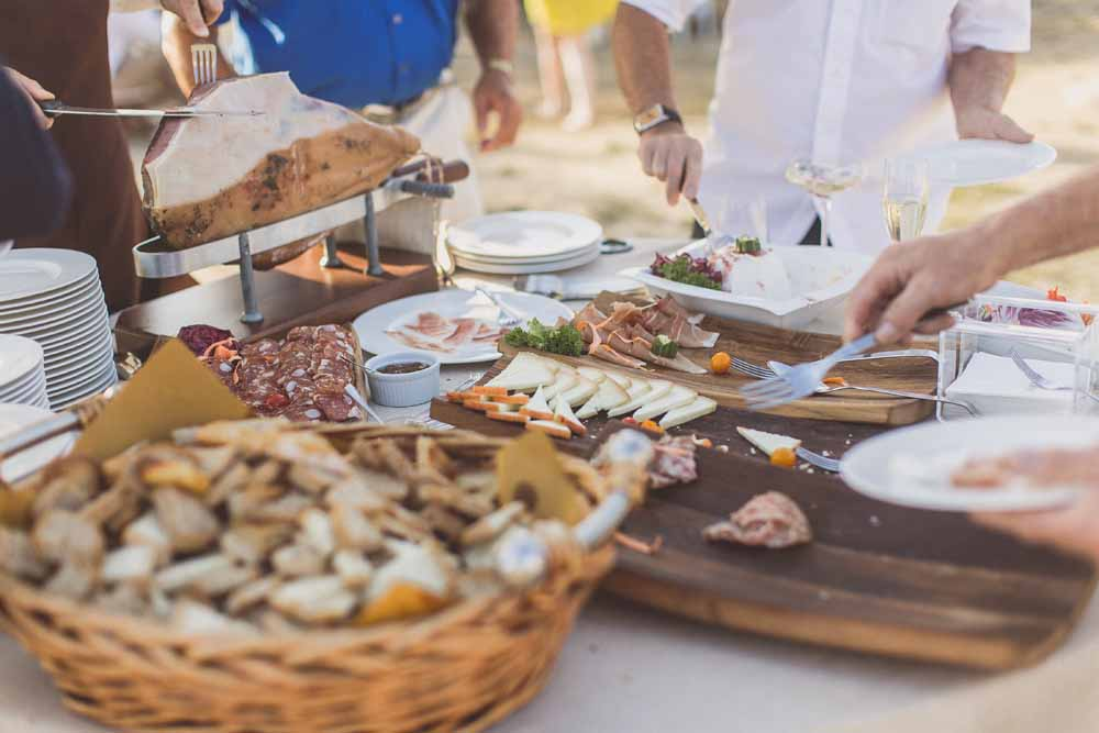 Tuscany wedding food stations - Rolands Social and Business Catering Florence