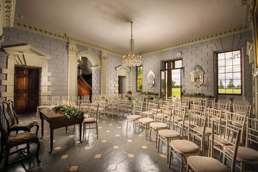 davenport house wedding venue ceremony room wedding florist
