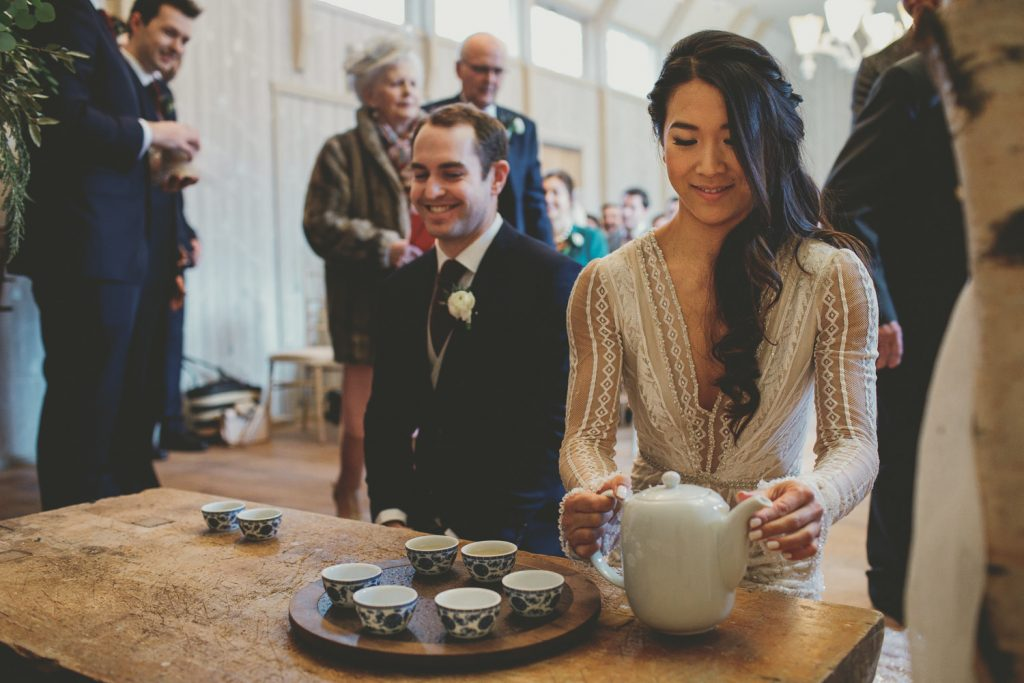 Chinese tea wedding ceremony Hampton Manor Passion for Flowers