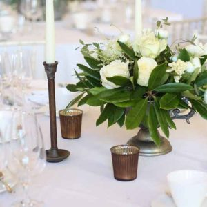 Compton Verney Wedding CENTREPIECES by Passion for Flowers