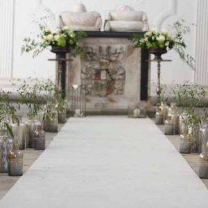 Compton Verney Wedding Ceremony Chapel by Passion for Flowers