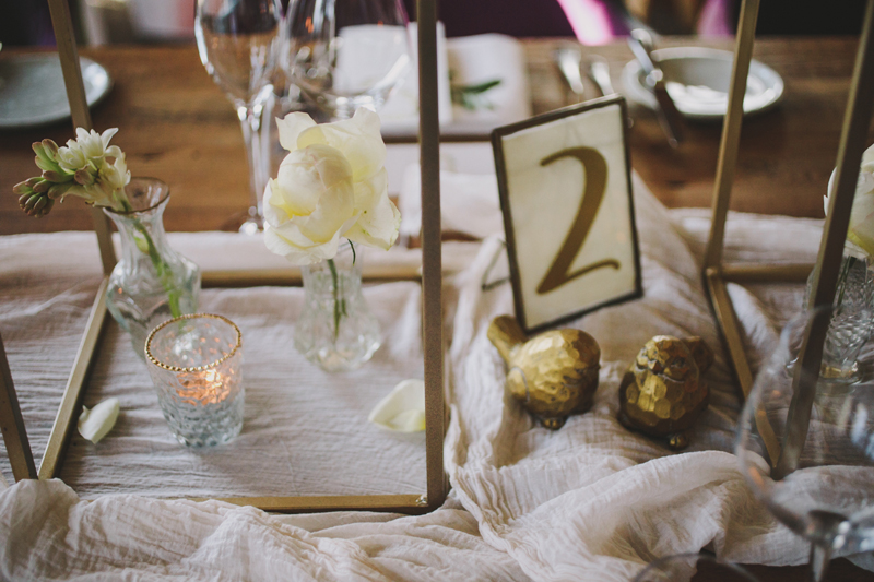 Hampton Manor Wedding Florist Passion for Flowers Gold Table Styling
