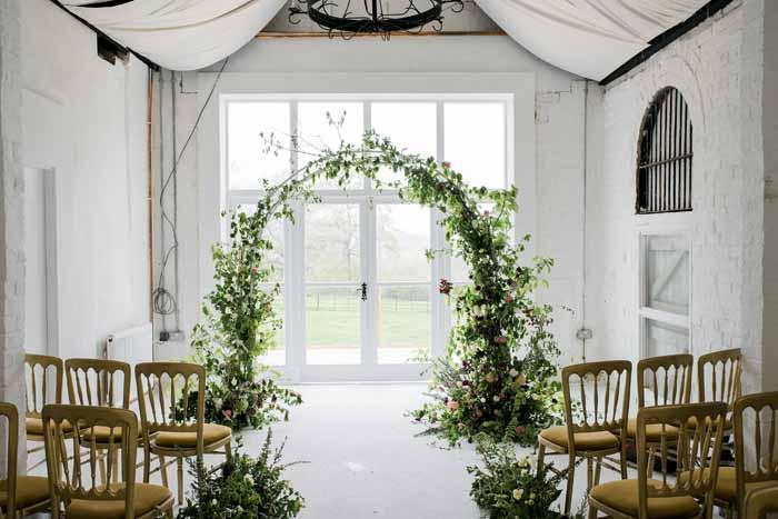 Barton Court Wedding Florist