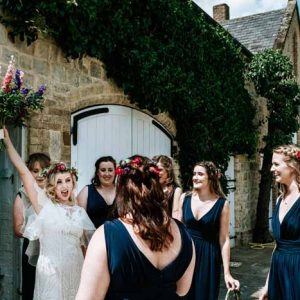 Longbourne Barn wedding ceremony Tipi Wedding Florist