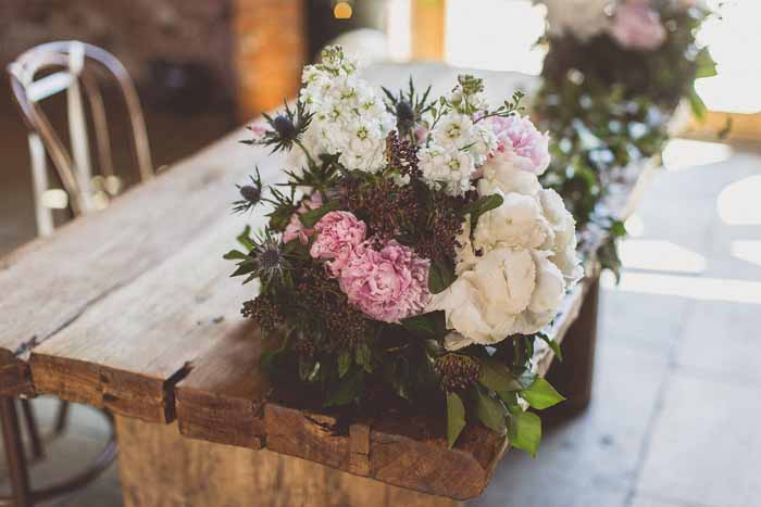Laid Back Barn Wedding Ideas - Shustoke Farm Barns Wedding - Florist Passion for Flowers