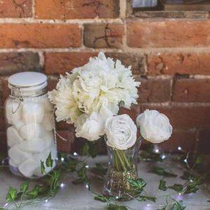Laid Back Barn Wedding Ideas - Shustoke Farm Barns Wedding - Florist Passion for Flowers