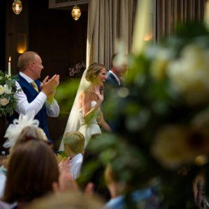 Candelabra wedding centrepieces Hampton Manor Passion for Flowers