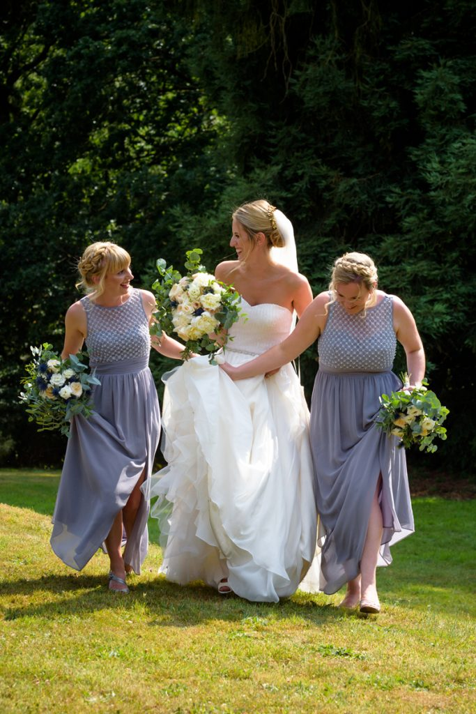 Hampton Manor wedding florist summer wedding
