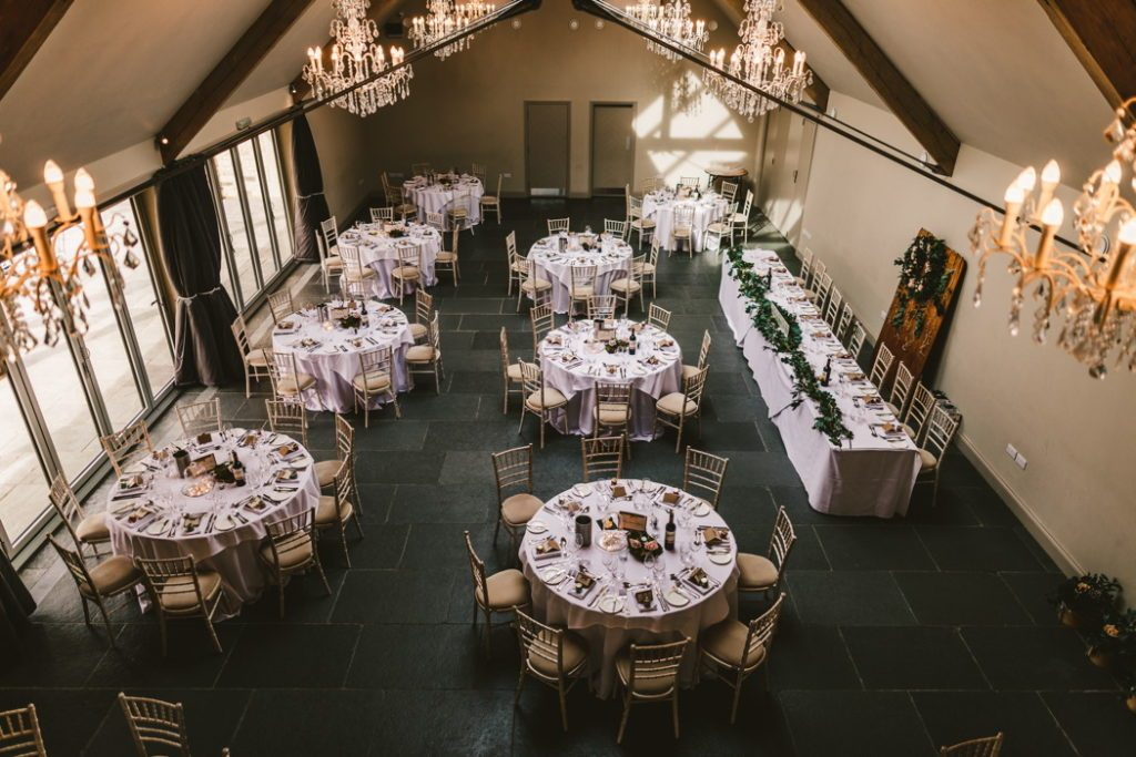 Modern barn wedding venue Blackwell Grange