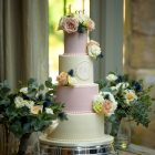 Wedding Cake flowers Hampton Manor Passion for Flowers
