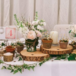 rustic top table wedding birtsmorton court