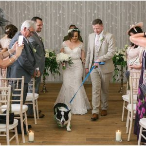 dog wedding ceremony Hampton Manor