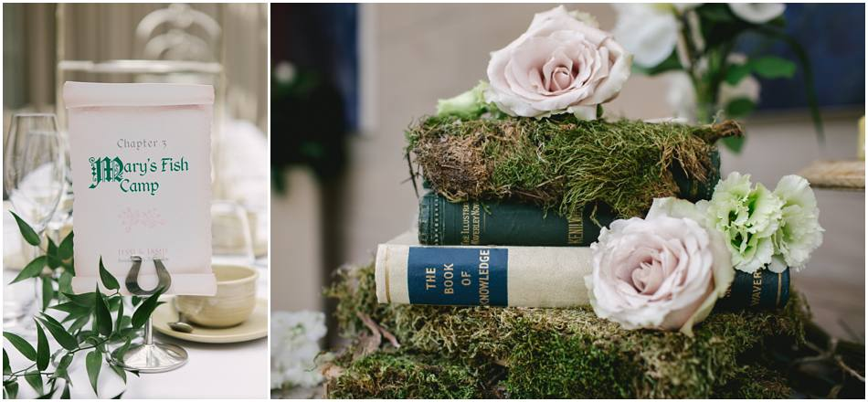 moss wedding ideas cover books