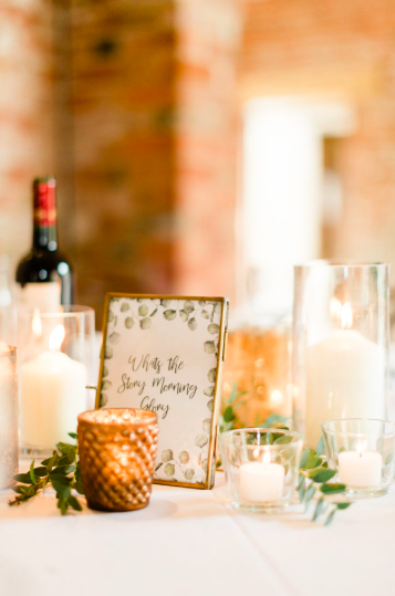 Bronze gold glass wedding styling wedding centrepiece ideas Passion for Flowers