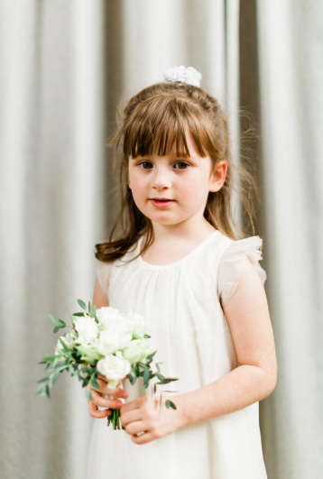 Delicate Flower Girl posy Passion for Flowers