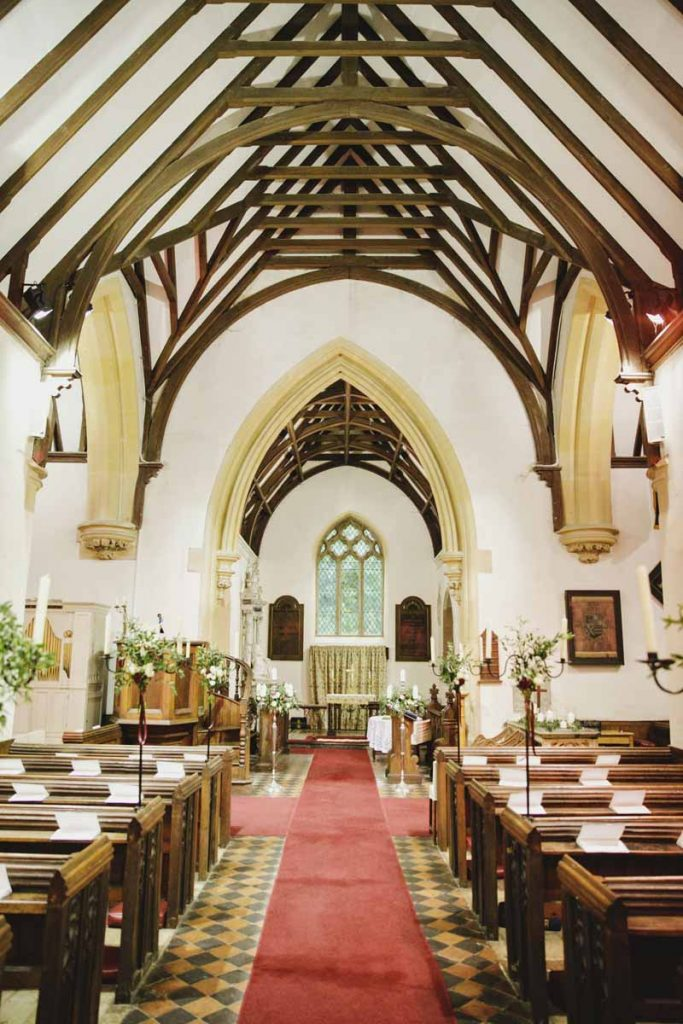 Birtsmorton Court church wedding florist Passion for Flowers