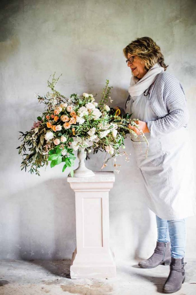 Karen Morgan Passion for Flowers urn floral designs