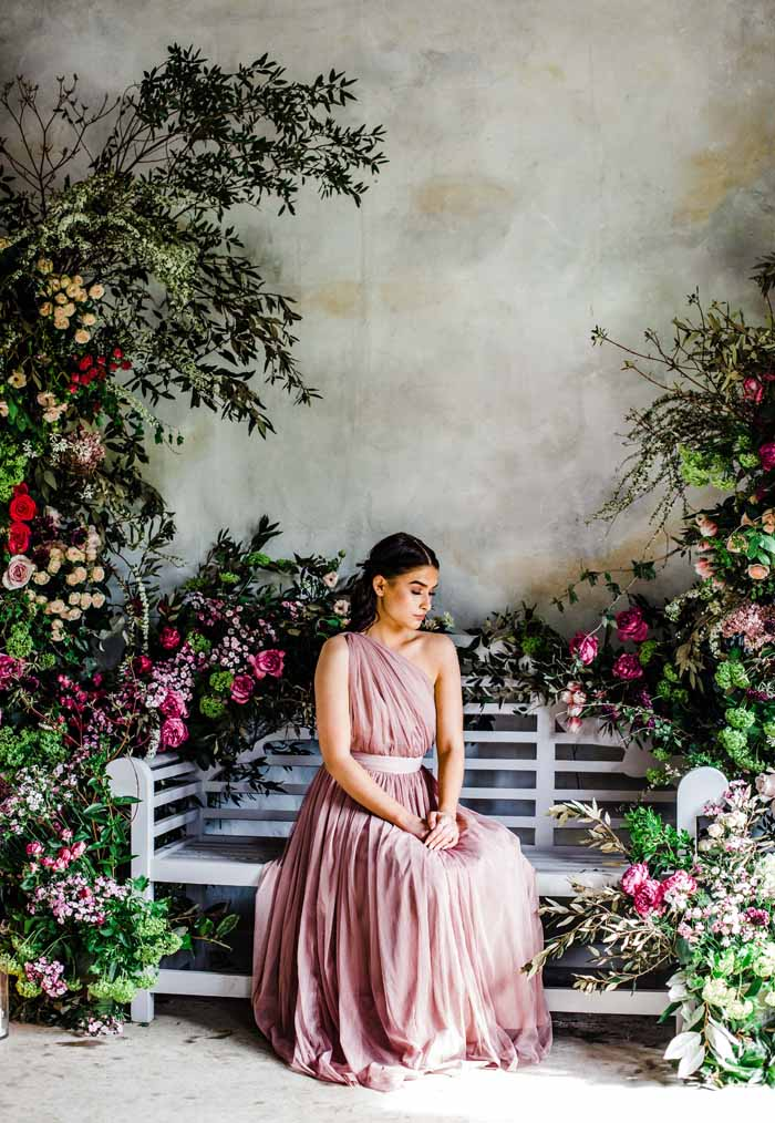 natural floral designs arch backdrops Passion for Flowers