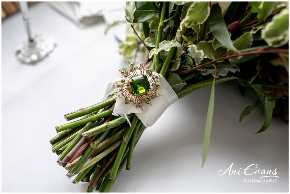 Blackwell Grange wedding florist bridal bouquet handle