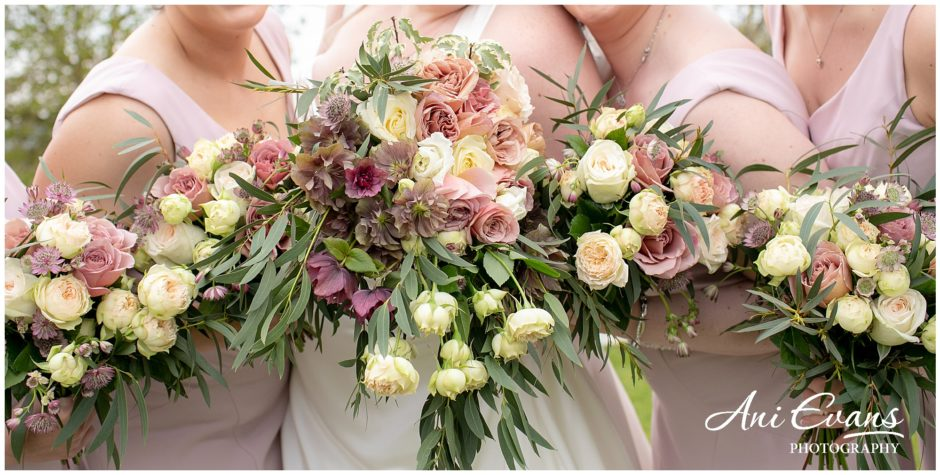 Blackwell Grange wedding florist wedding bouquets