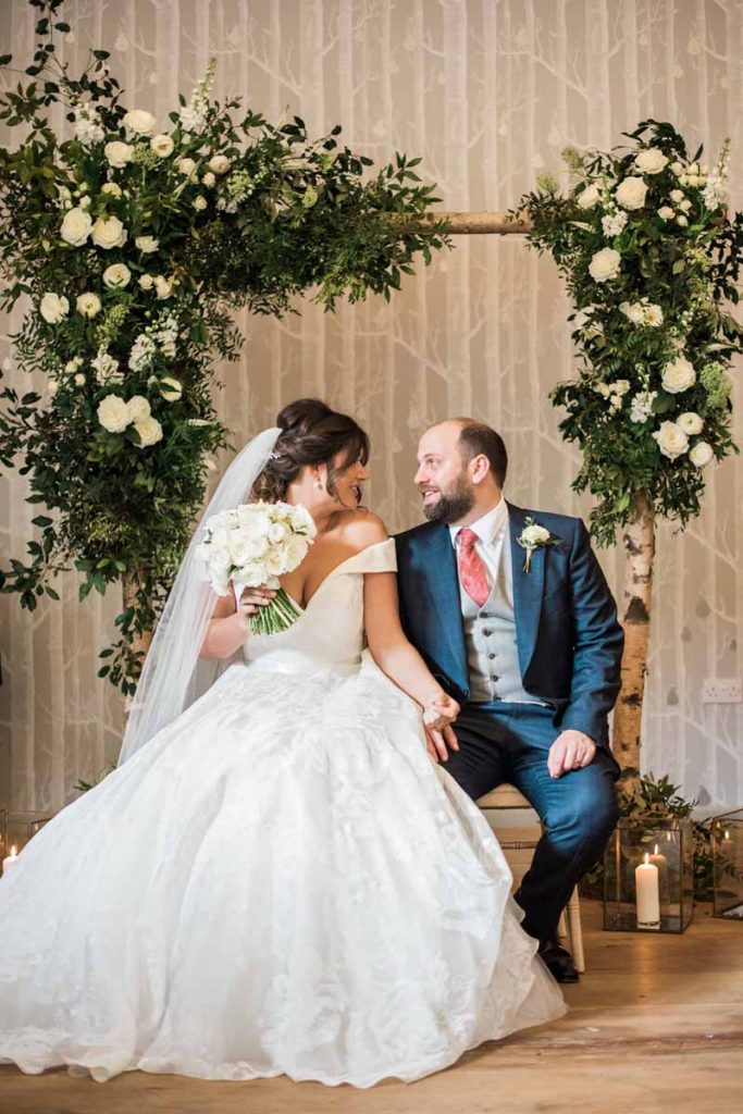 Hampton Manor wedding florist Passion for Flowers Karen Morgan