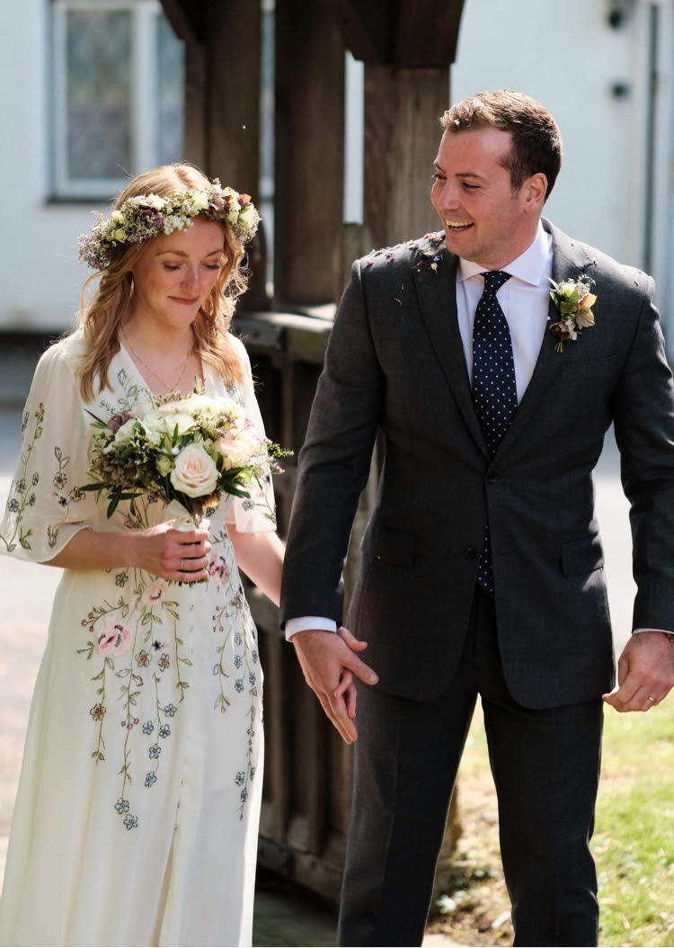floral-wedding-dress-wedding-bouquet-flower-crown-to-match-Passion-for-Flowers-2
