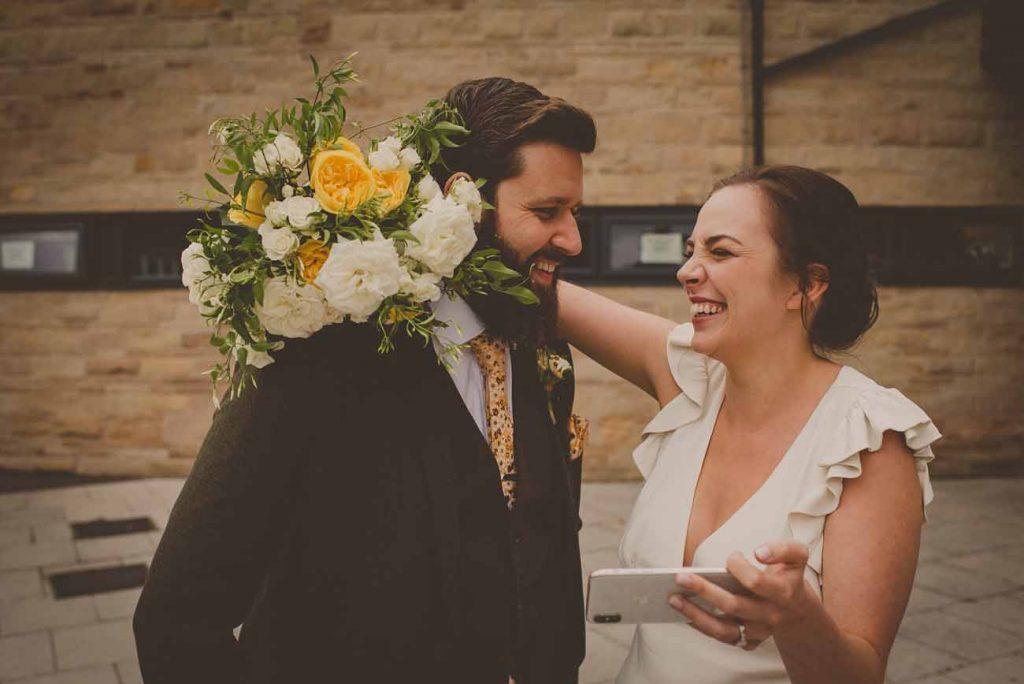 yellow wedding flowers bride bouquets micro weddings